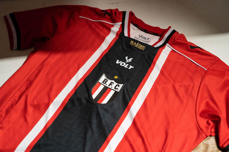 Terceira camisa do Botafogo-SP 2021-2022 Volt Sport