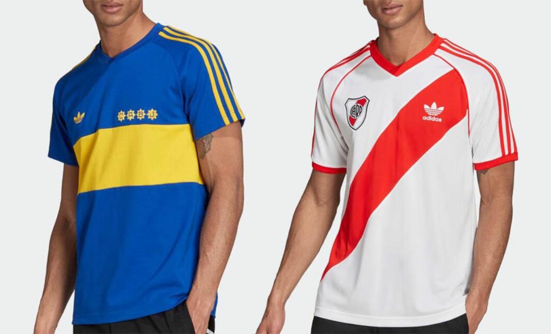 Adidas Originals lança coleção para Boca Juniors e River Plate