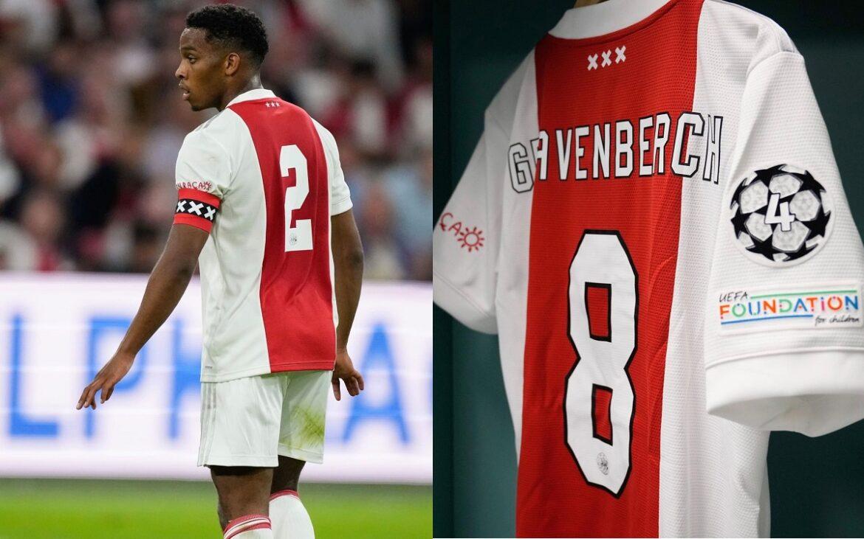 Ajax faz novas alterações em camisa por regras da UEFA 2