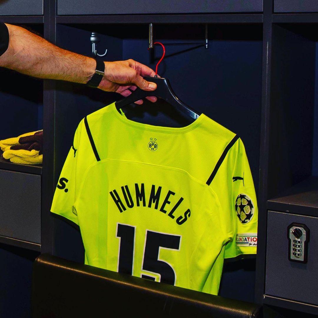 Camisa Borussia Dortmund Copa 2021-2022 PUMA
