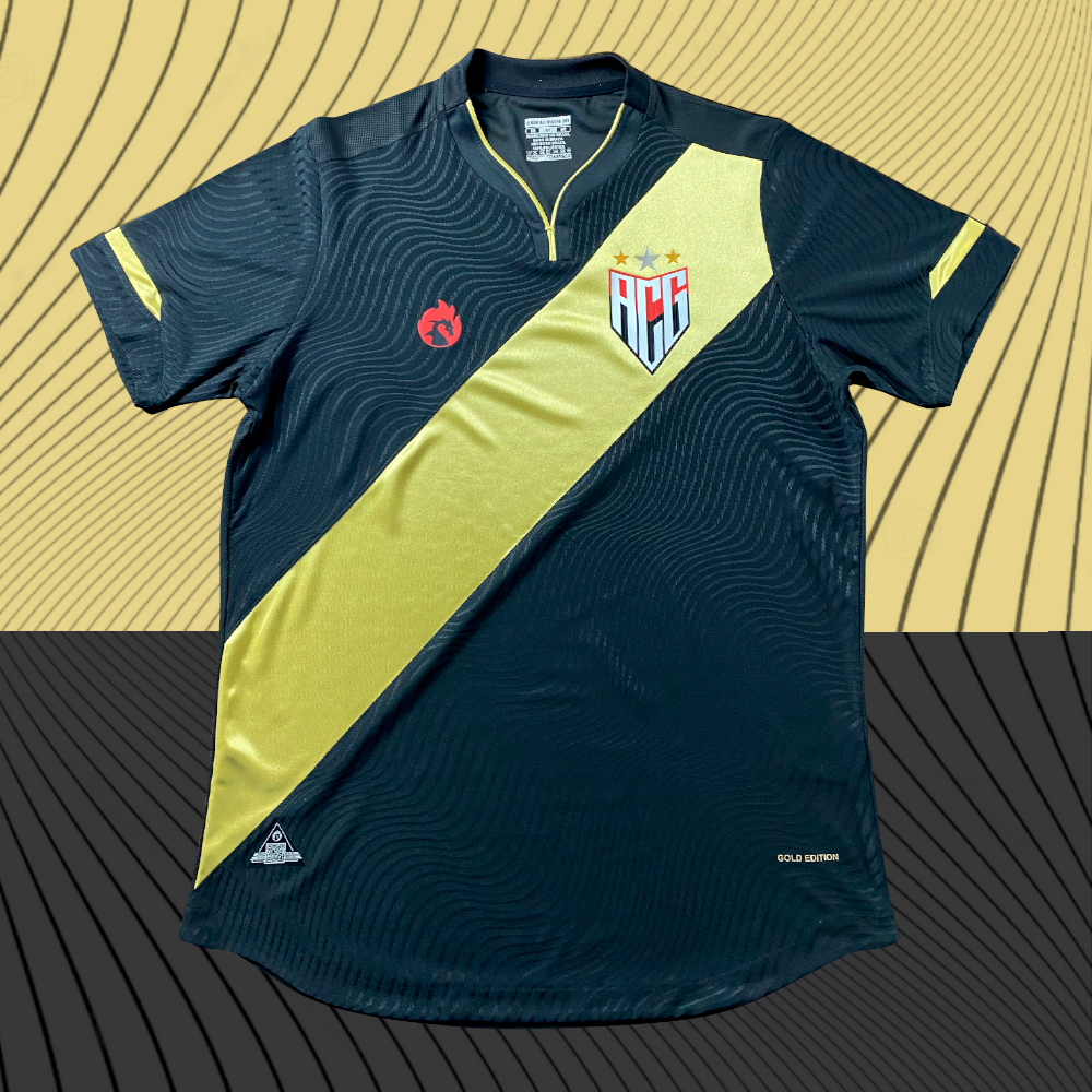 Camisa Gold Edition Atlético GO 2021 Dragão Premium