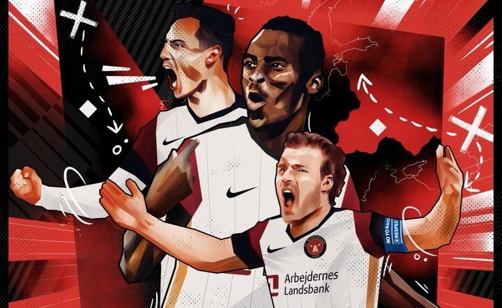 Camisa do FC Midtjylland Europa League 2021-2022 Nike