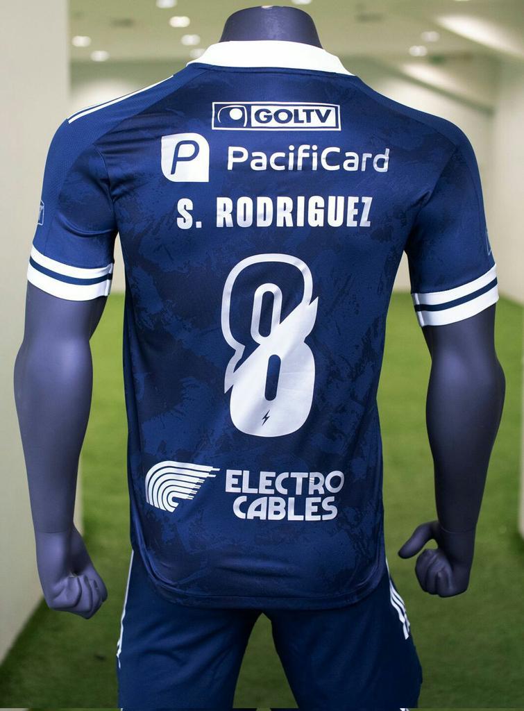 Camisa reserva do Emelec 2021-2022 Adidas