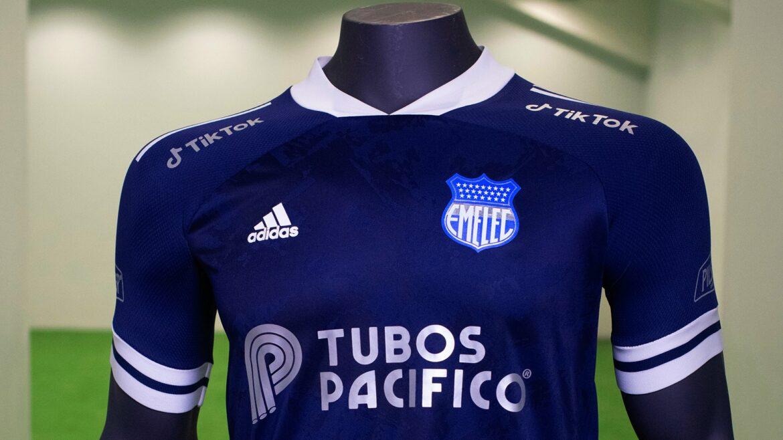 Camisa reserva do Emelec 2021-2022 Adidas a