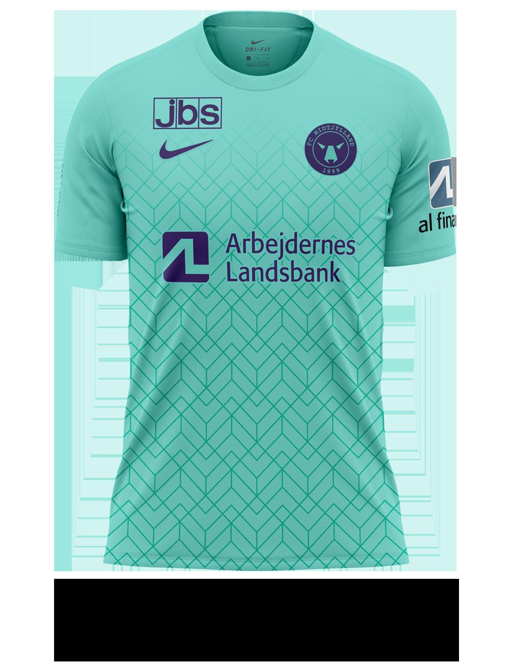 Camisa reserva do FC Midtjylland 2021-2022 é apresentada pela Nike
