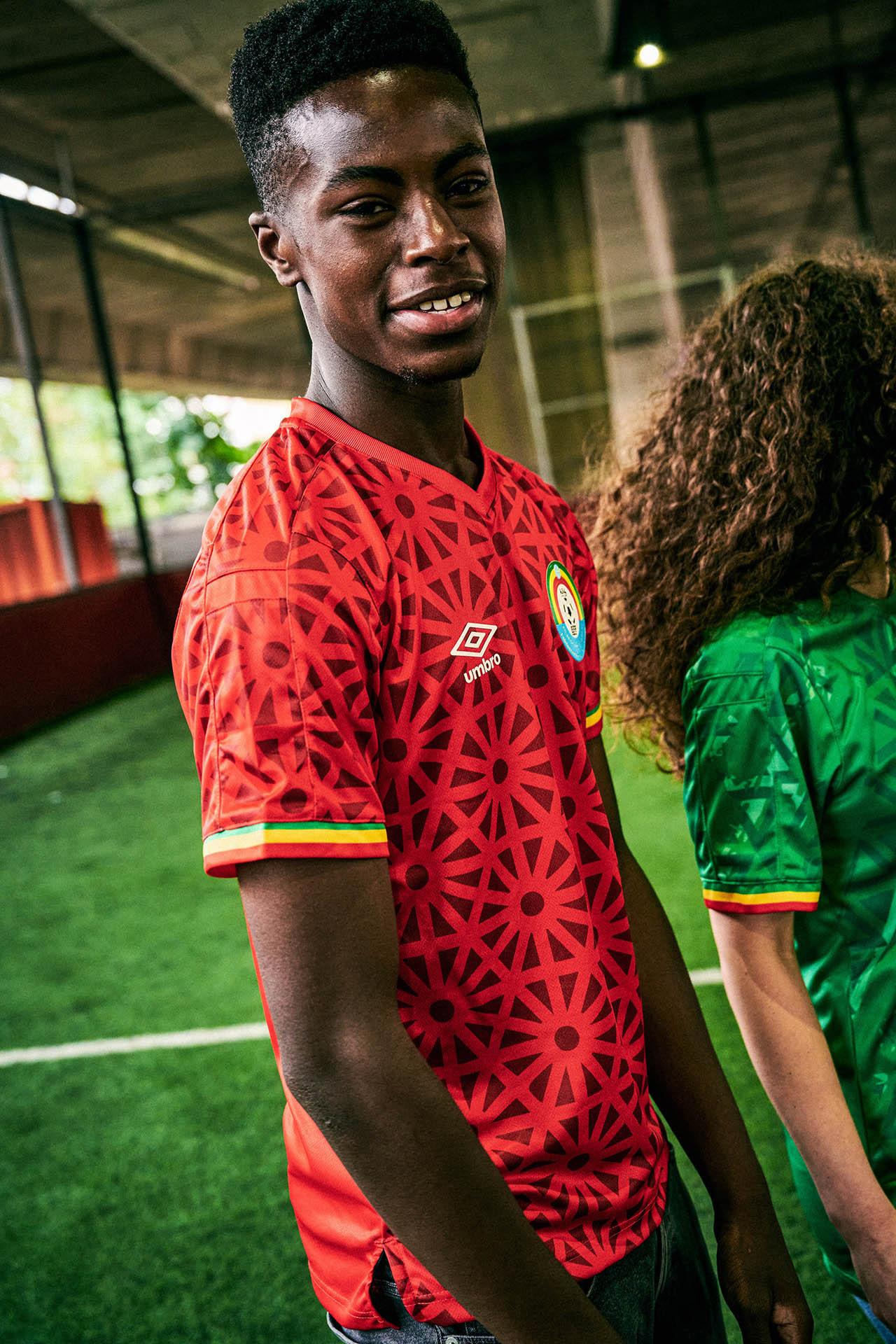 Camisas da Etiópia 2021-2022 Umbro