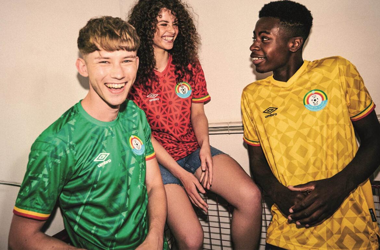 Camisas da Etiópia 2021-2022 Umbro a