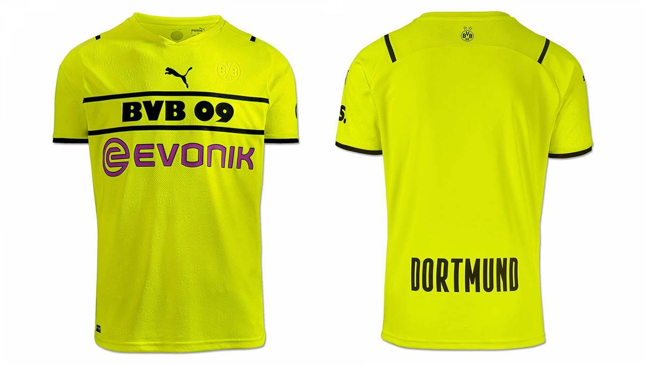 Camisas de Copas do Borussia Dortmund 2021-2022 PUMA Home kit