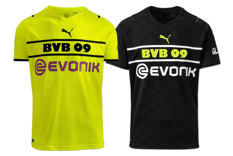 Camisas de Copas do Borussia Dortmund 2021-2022 PUMA Home kit a