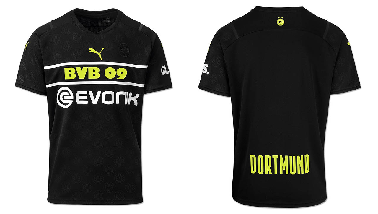Camisas de Copas do Borussia Dortmund 2021-2022 PUMA kit Away