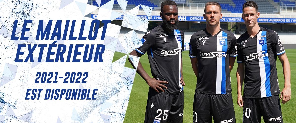 Camisas do AJ Auxerre 2021-2022 Macron