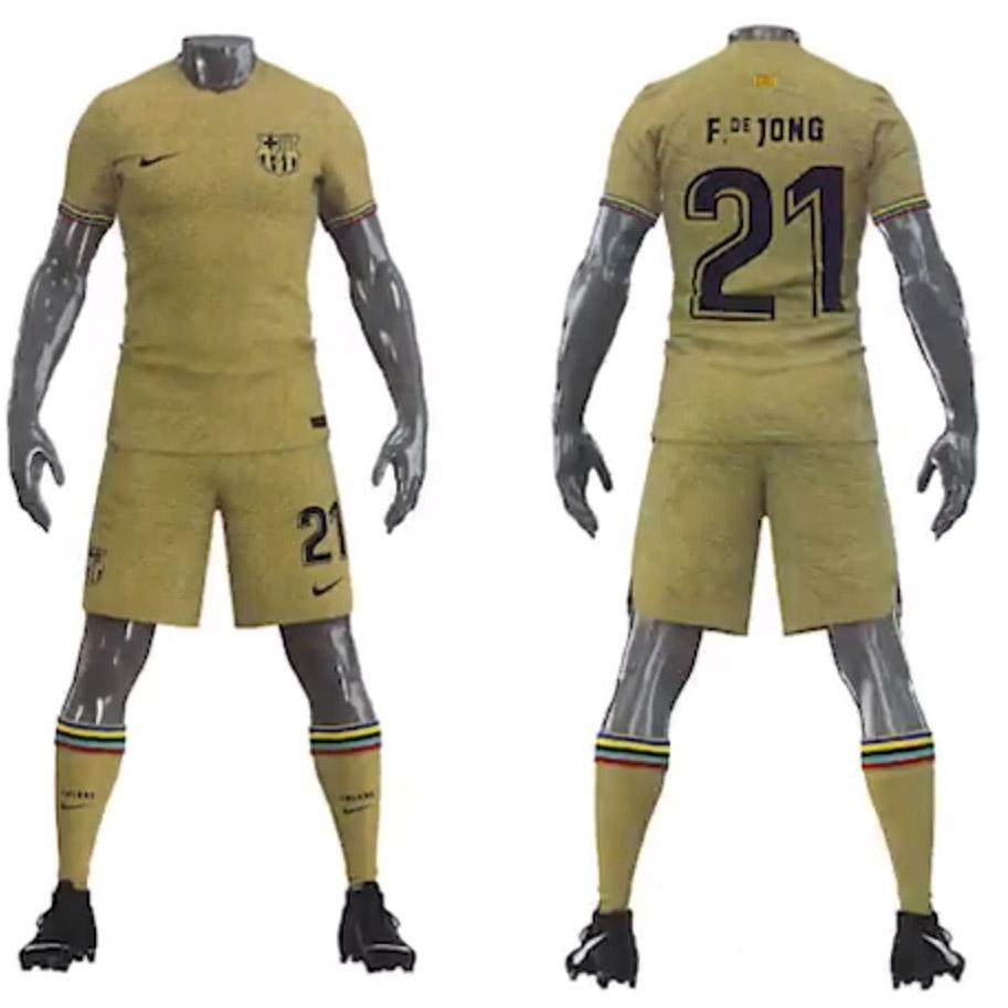 Camisas do Barcelona 2022-2023 Nike Away