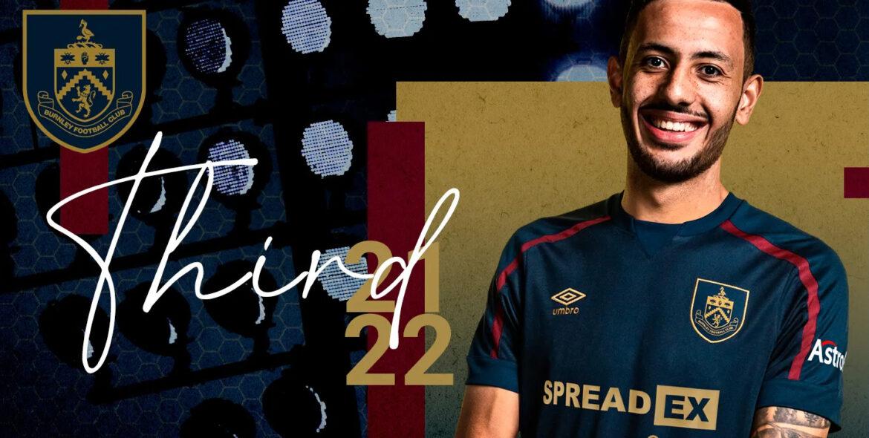 Camisas do Burnley FC 2021-2022 Umbro a