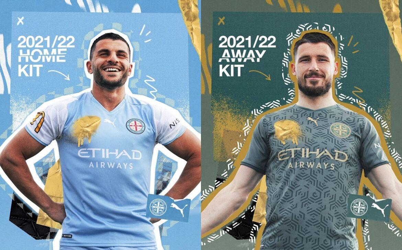Camisas do Melbourne City 2021-2022 PUMA