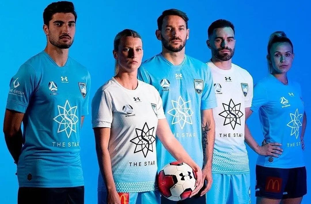 Camisas do Sydney FC 2021-2022 Under Armour