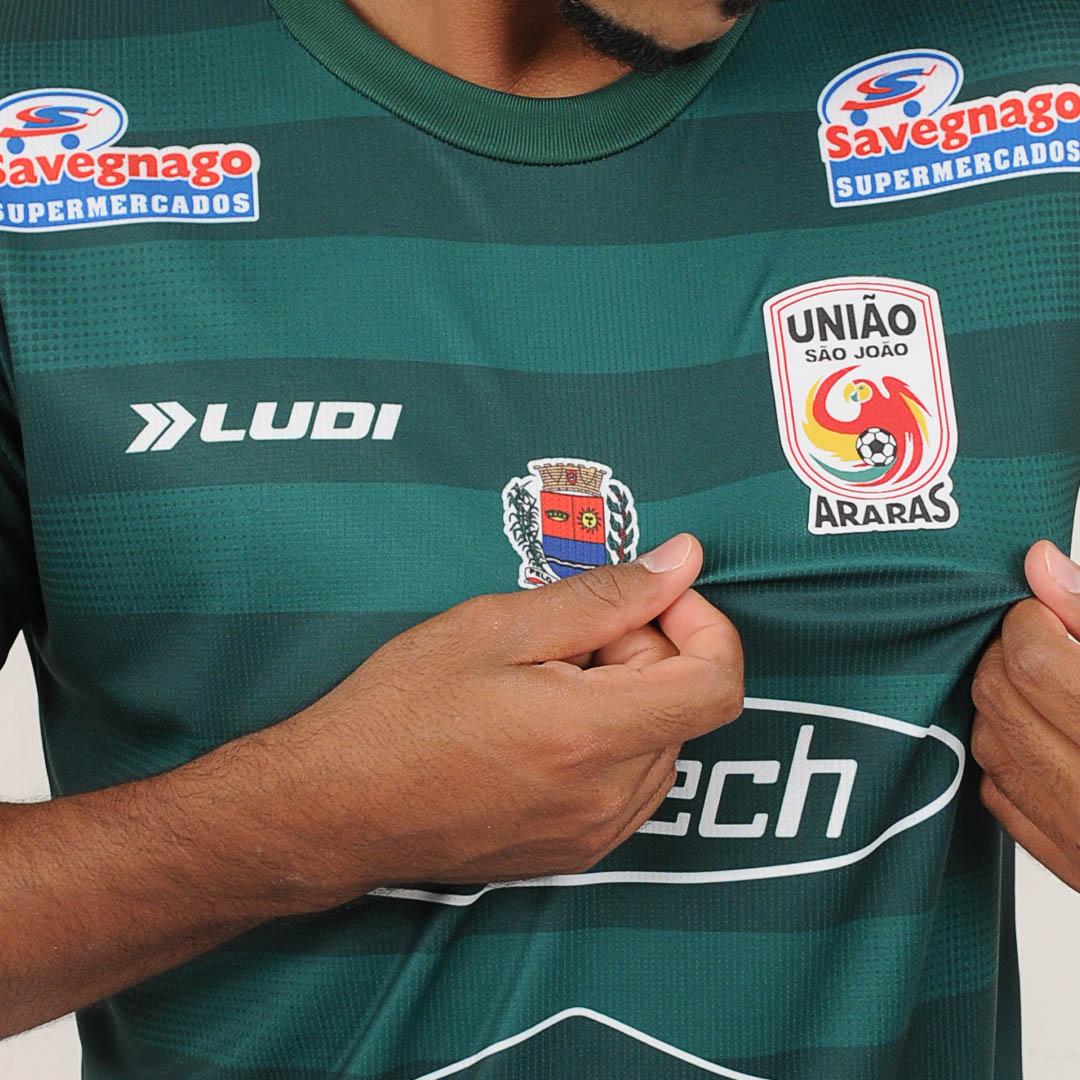 Camisas do União São João de Araras 2021-2022 Ludi Sports Away