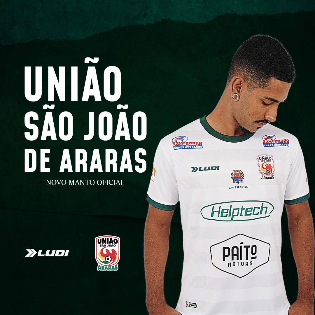 Camisas do União São João de Araras 2021-2022 Ludi Sports Home