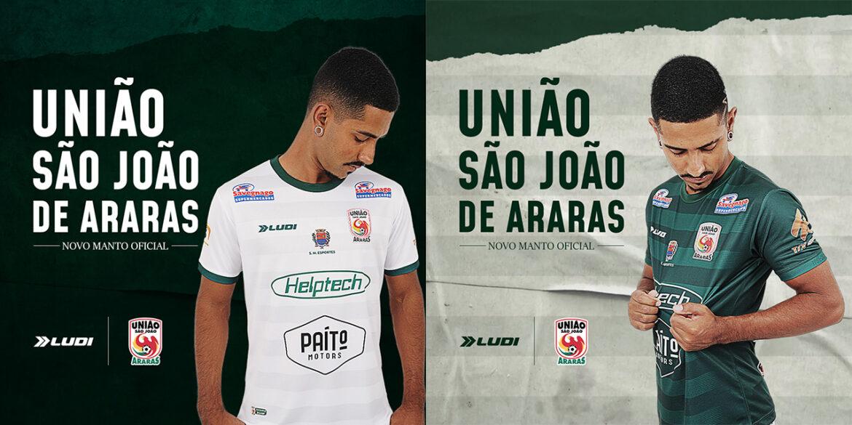 Camisas do União São João de Araras 2021-2022 Ludi Sports a