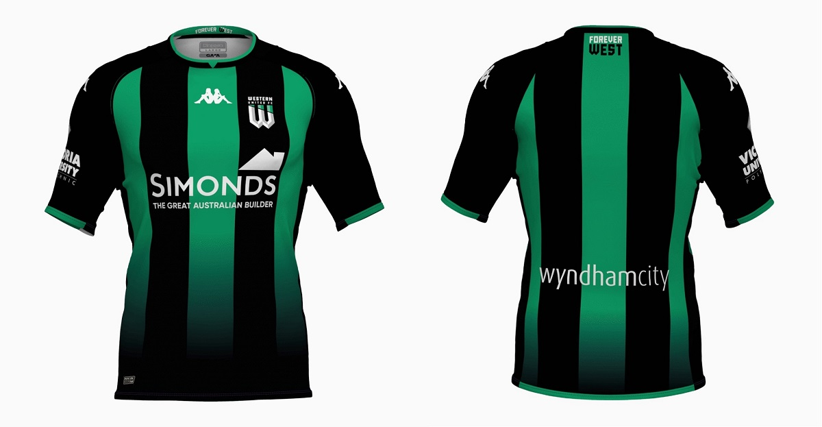 Camisas do Western United 2021-2022 Kappa