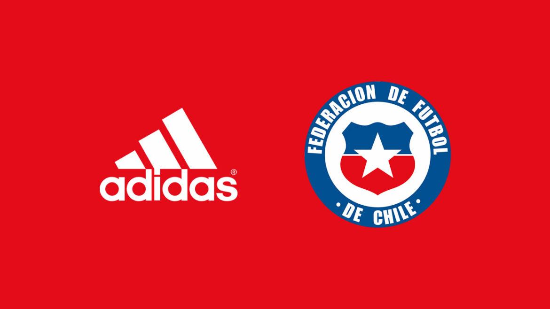 Seleção do Chile assina com a Adidas por 5 temporadas