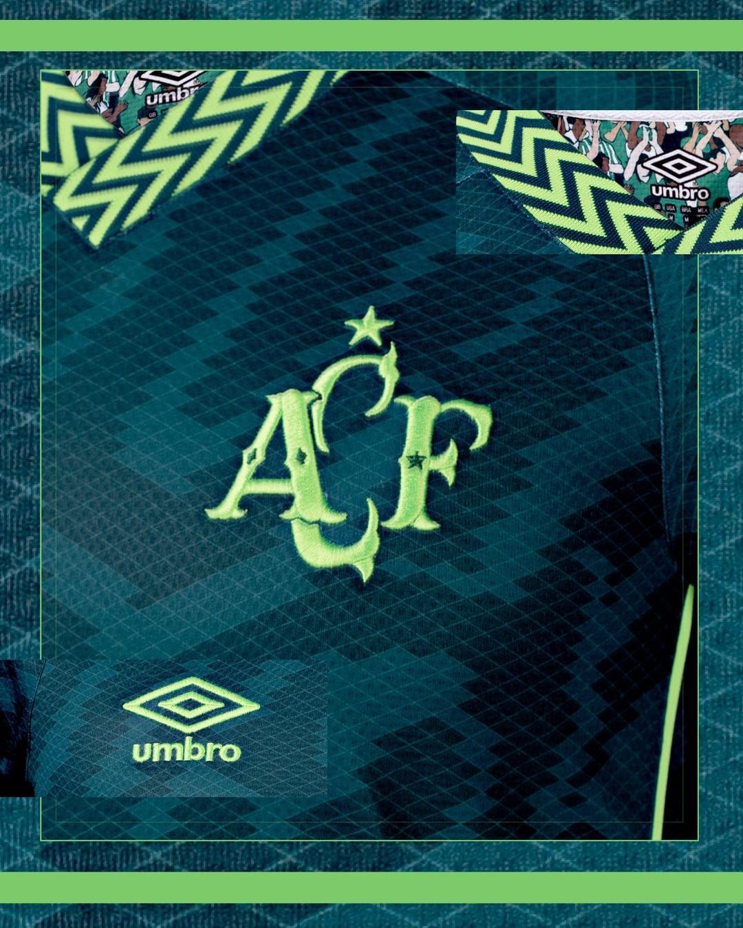 Terceira camisa da Chapecoense 2021-2022 Umbro