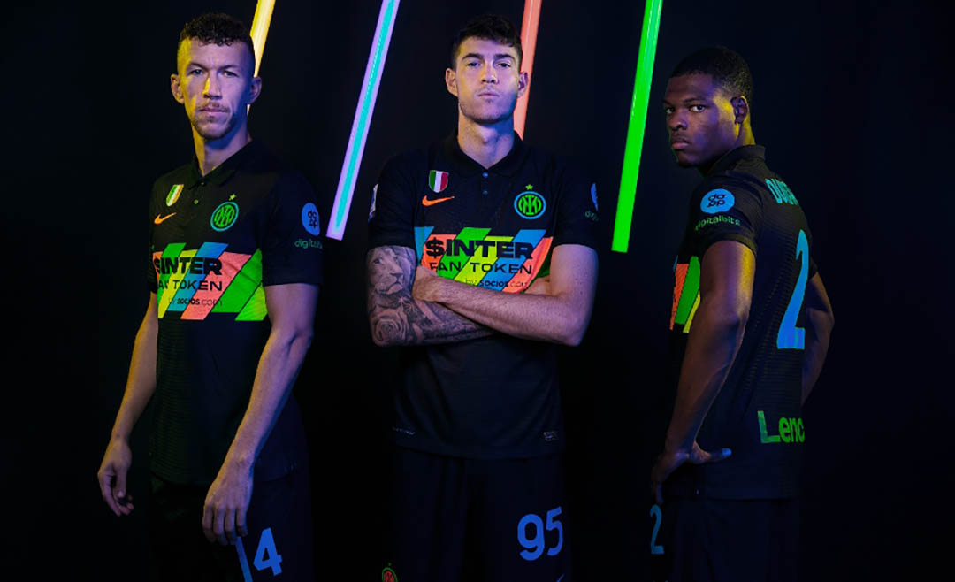 Terceira camisa da Inter de Milão 2021-2022 Nike