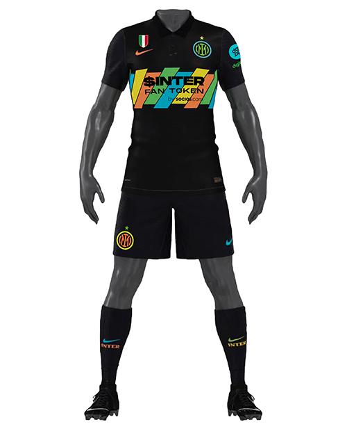 Terceira camisa da Inter de Milão 2021-2022 Nike kit