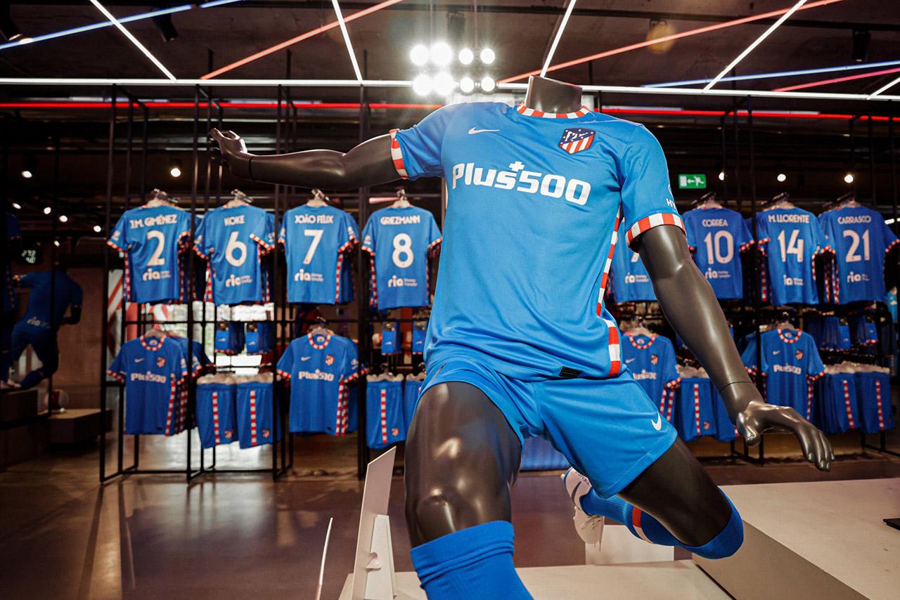 Terceira camisa do Atletico de Madrid 2021-2022 Nike
