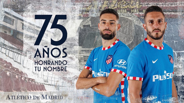 Terceira camisa do Atletico de Madrid 2021-2022 Nike a