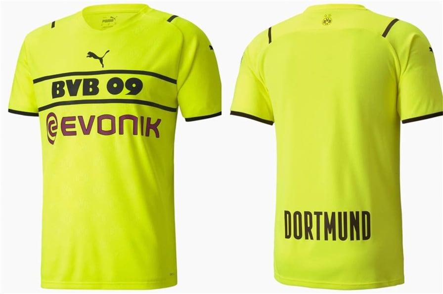 Terceira camisa do Borussia Dortmund 2021-2022 PUMA