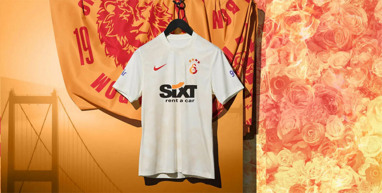 Terceira camisa do Galatasaray 2021-2022 Nike a