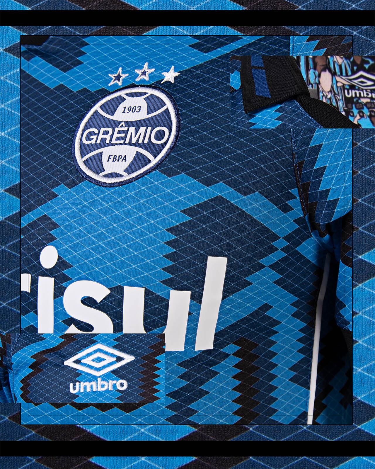 Terceira camisa do Grêmio 2021-2022 Umbro