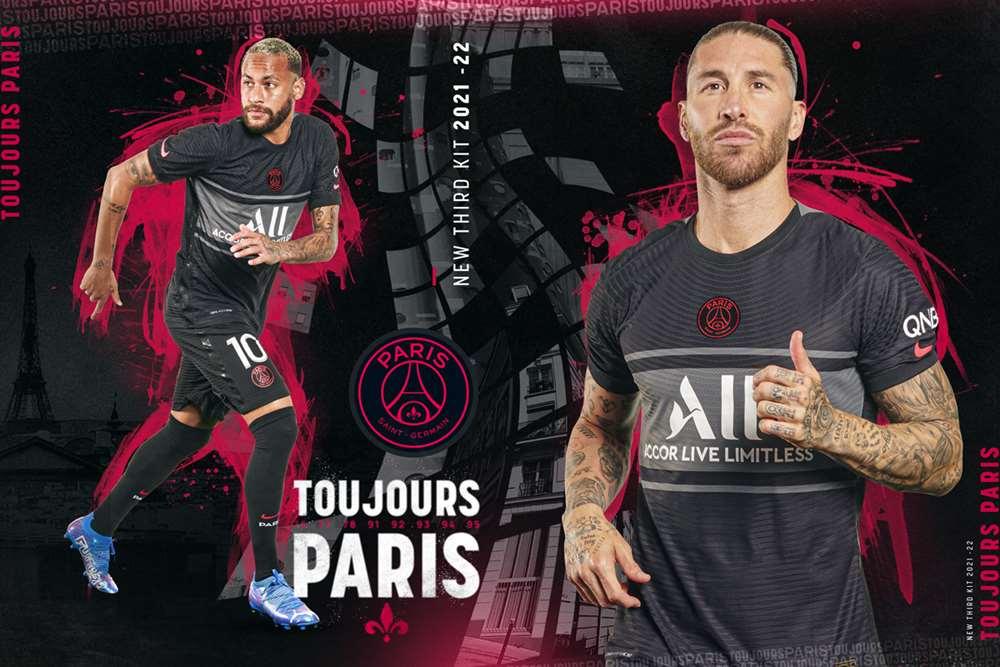 Terceira camisa do PSG 2021-2022 Nike