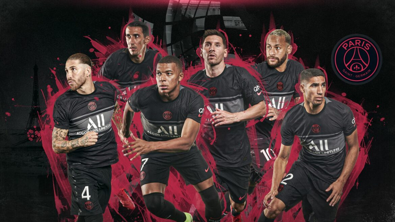 Terceira camisa do PSG 2021-2022 Nike a