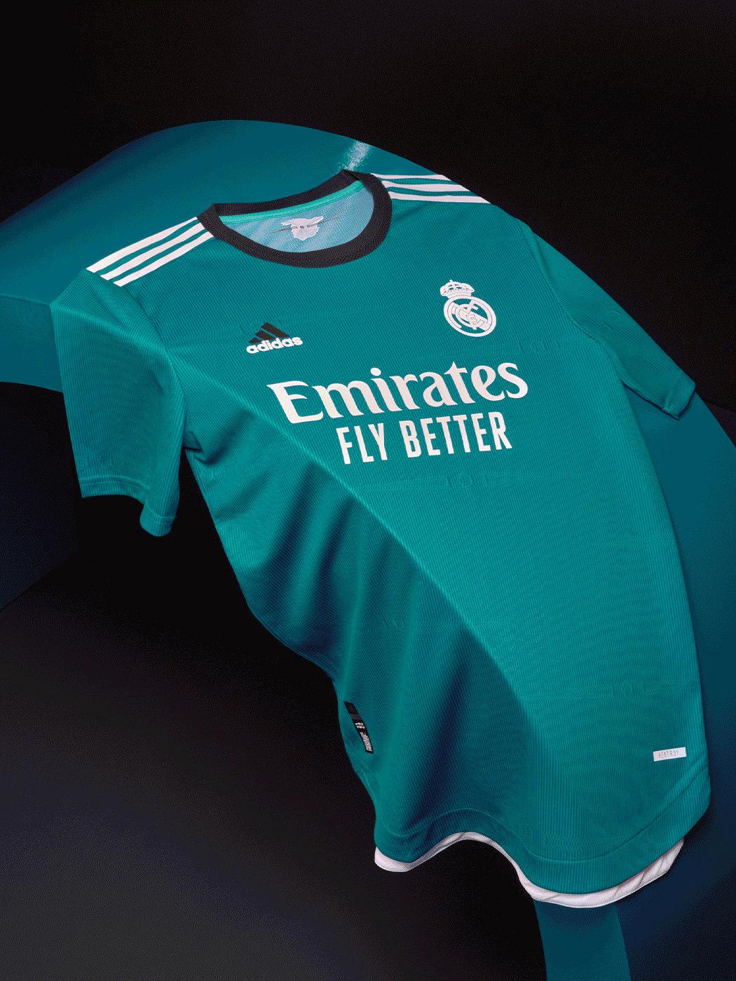 Terceira camisa do Real Madrid 2021-2022 Adidas