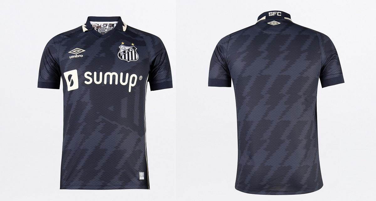 Terceira camisa do Santos FC 2021-2022 Umbro