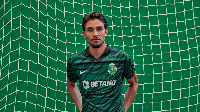 Terceira camisa do Sporting CP 2021-2022 Nike a