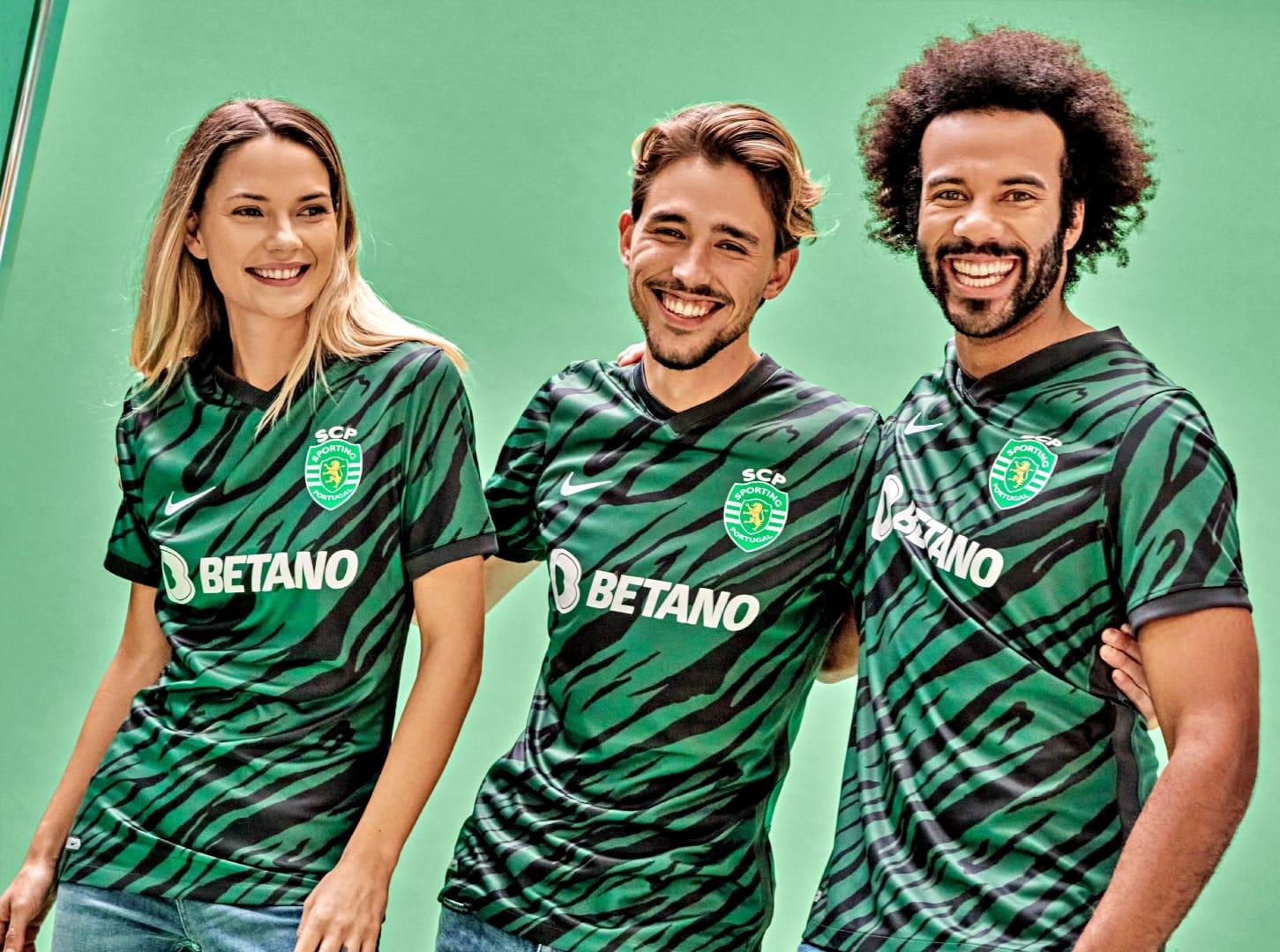 Terceira camisa do Sporting CP 2021-2022 Nike