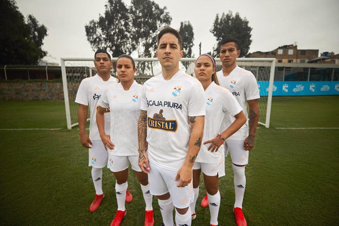 Terceira camisa do Sporting Cristal 2021-2022 Adidas a