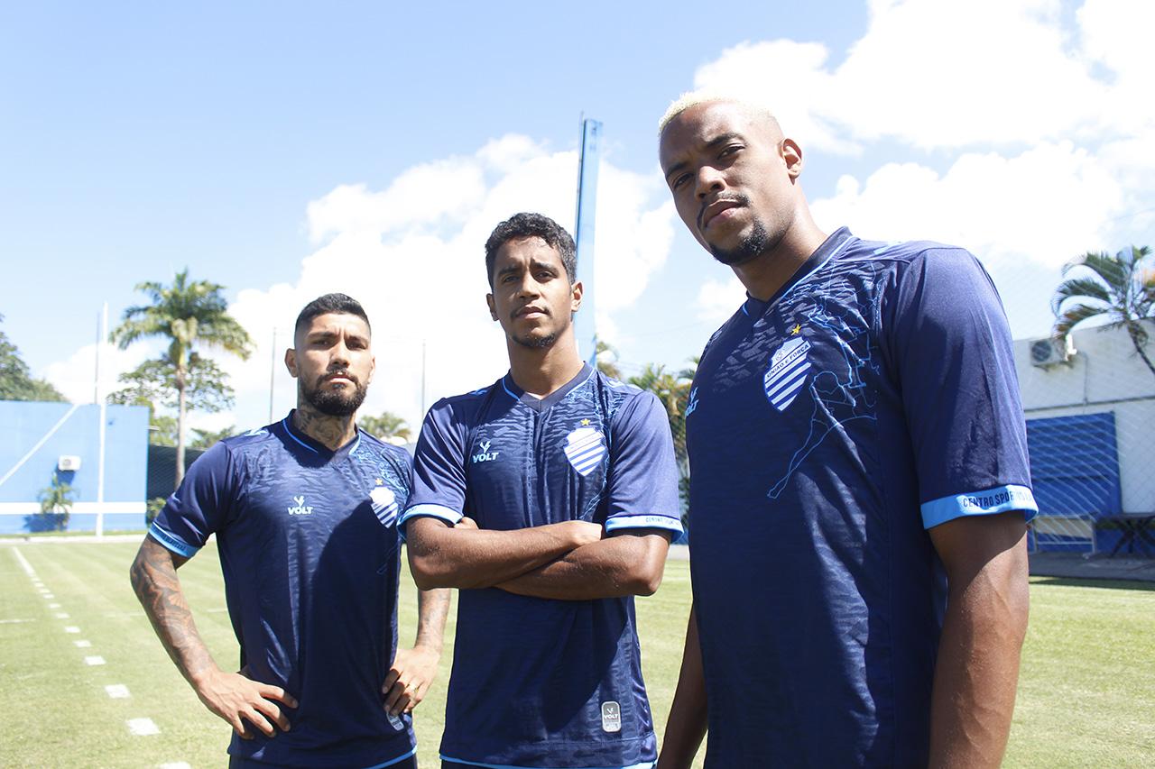 Terceira camisa do CSA 2021-2022 Volt Sport