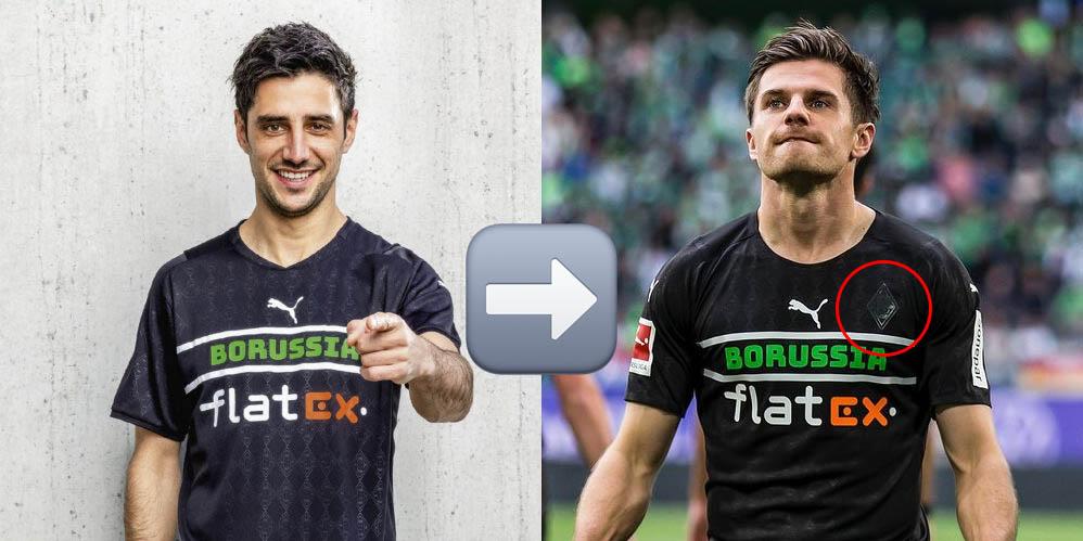 Borussia Mönchengladbach também adiciona escudo em camisa 3 a