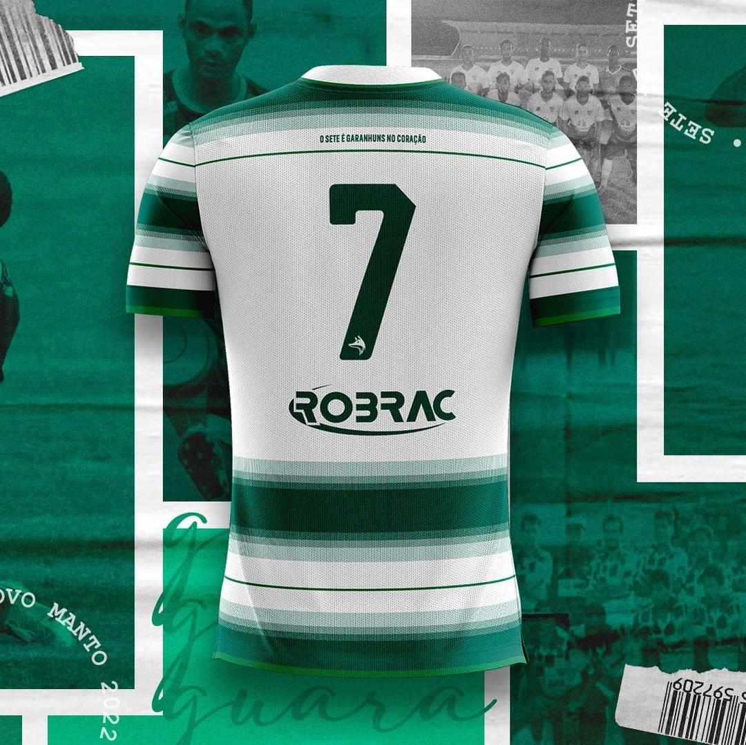 Camisas do Sete de Setembro-PE 2021-2022 são reveladas pela Robrac