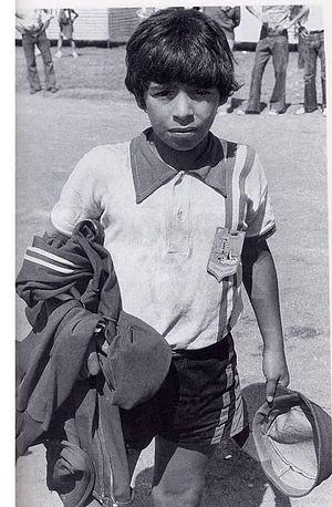 Maradona_1970_Los_Cebollitas